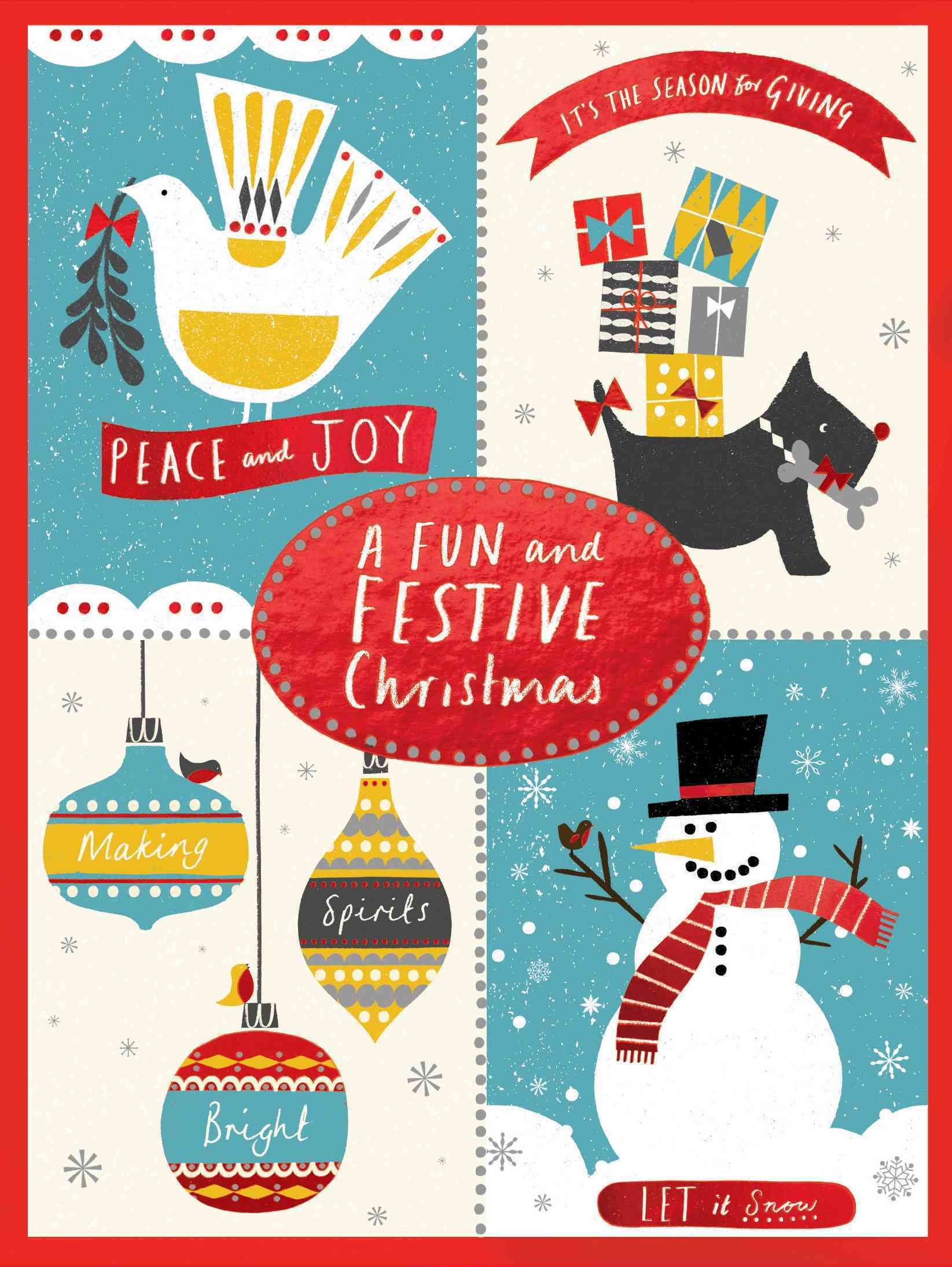 A Fun and Festive Christmas Notecard Collection By Powell, Debbie (ILT)